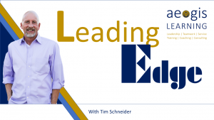Aegis Learning Presents Leading Edge with Tim Schneider