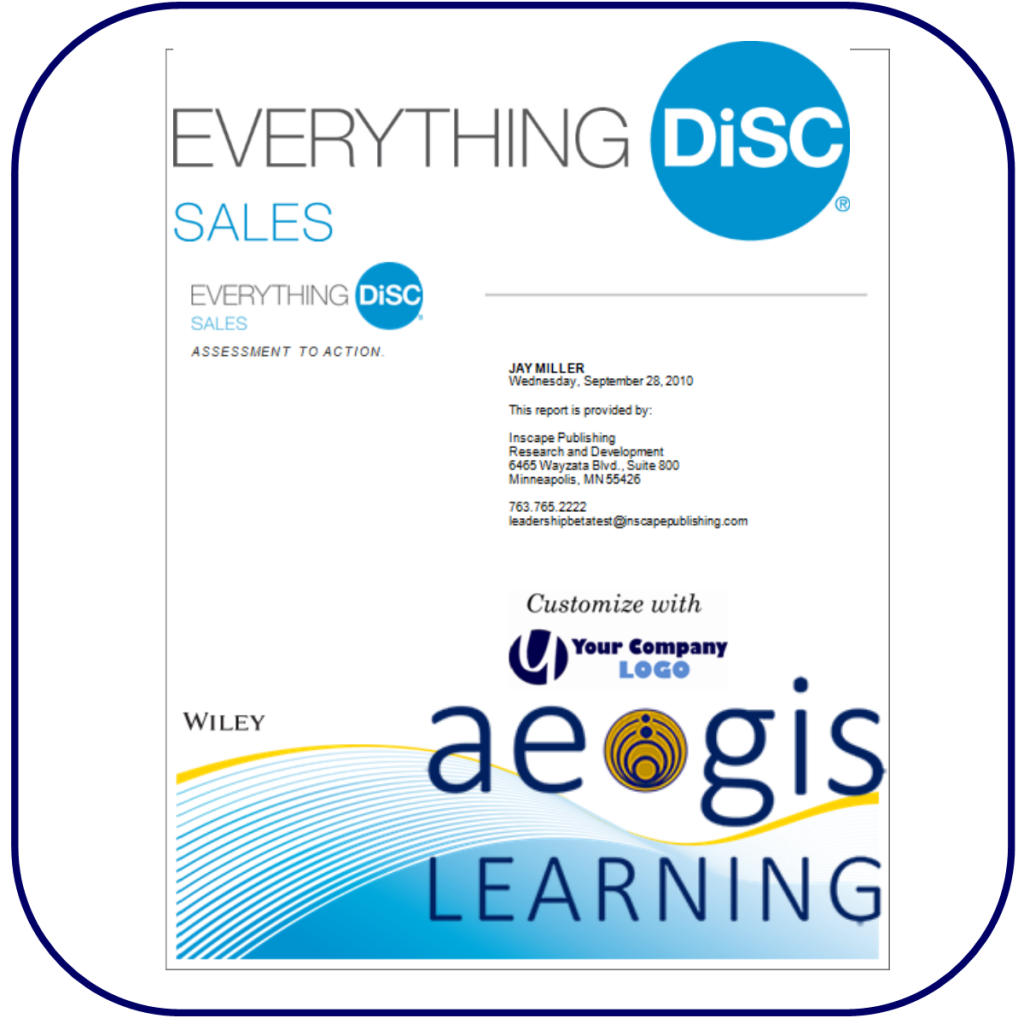 DiSC Sales Assessment