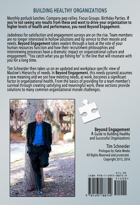 Beyond Engagement by Tim Schneider