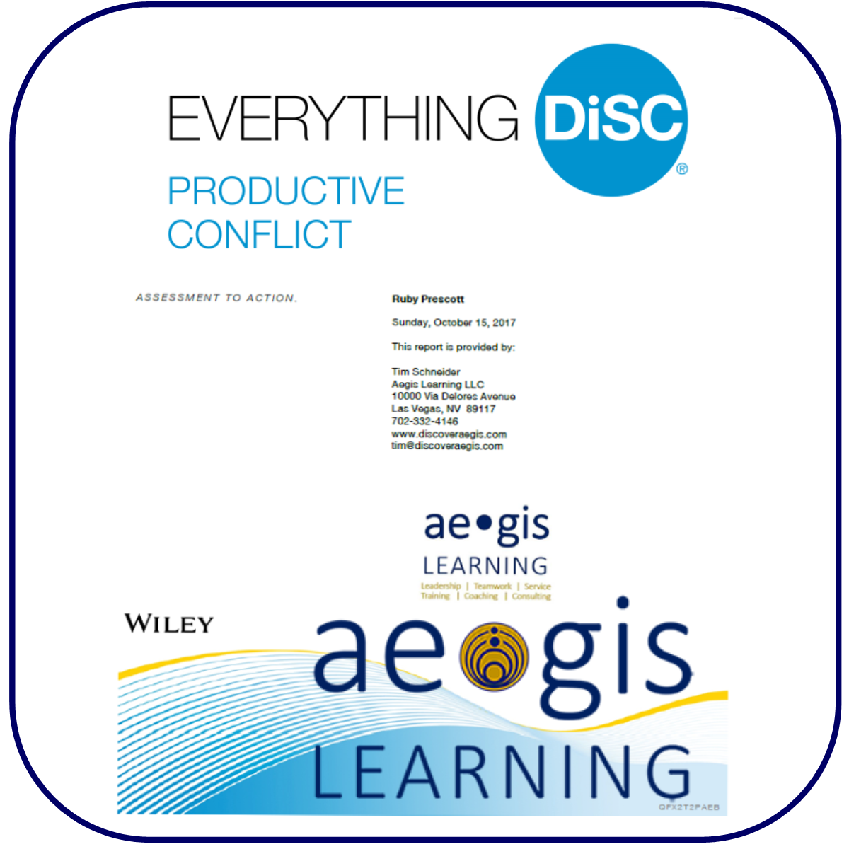 DiSC Productive Conflict Assessment