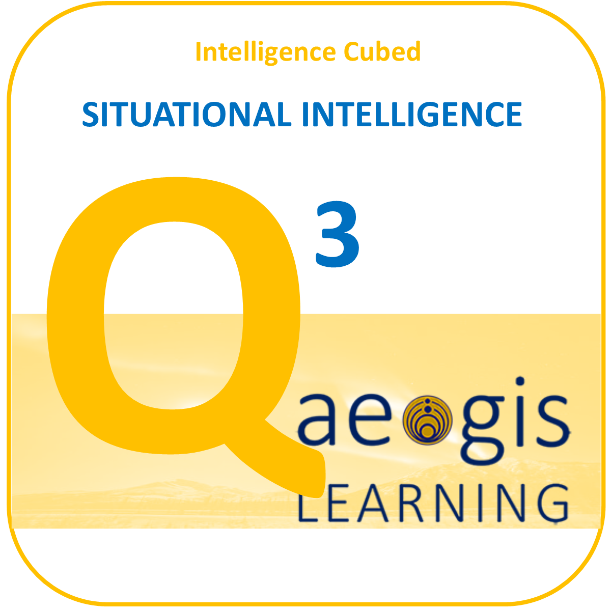 Situational Intelligence is an Aegis Learning Exclusive Program
