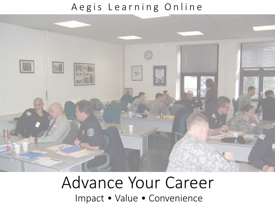 Aegis Learning Online
