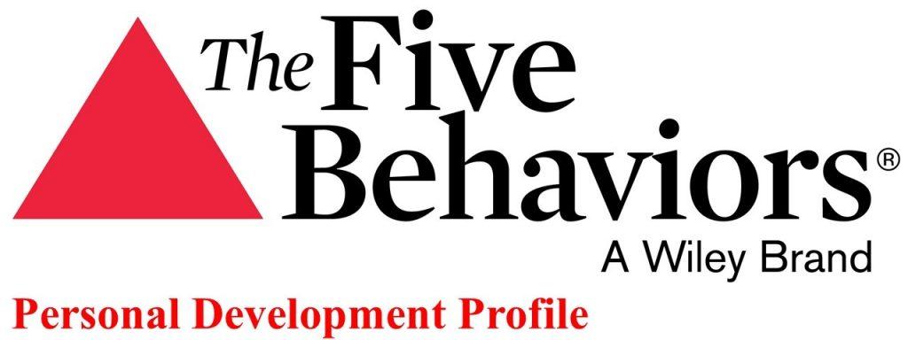 5 Behaviors Personal Development Profile