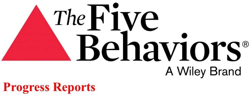 Five Behaviors Progress Reports from Aegis Learning
