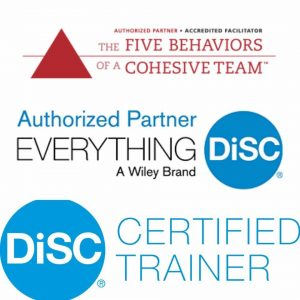 Aegis Learning is a Certified DiSC and Five Behaviors Facilitator