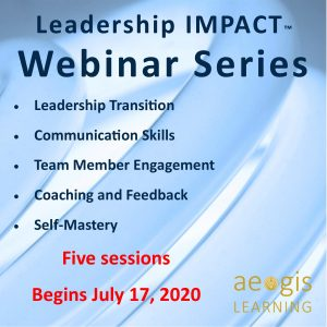 Leadership IMPACT Webinar Series