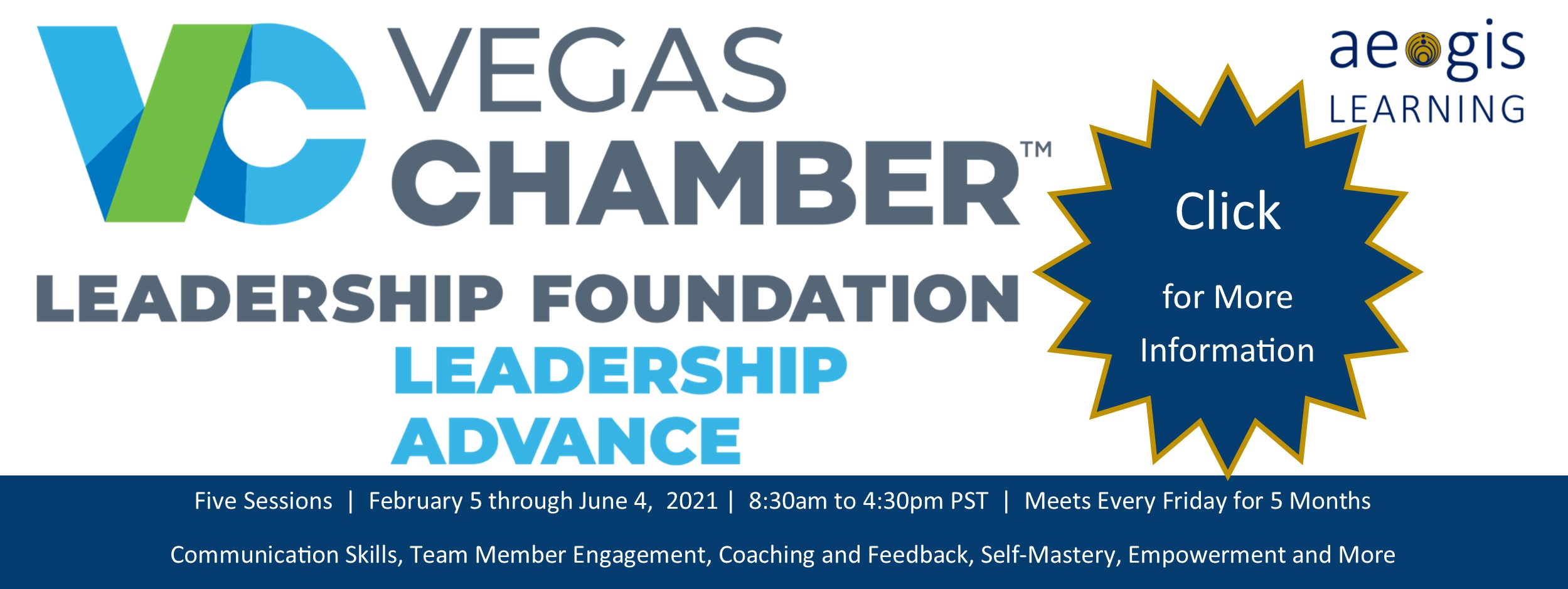 Leadership Advance from the Vegas Chamber and Aegis Learning